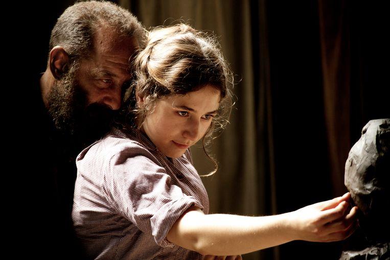 Auguste Rodin (Lindon) en 'zijn' Camille Claudel (Izïa Higelin). Beeld rv