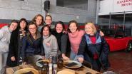 Soroptimist installeert pop-uprestaurant in verlaten garage en kleurt monumenten oranje in Oudenaarde
