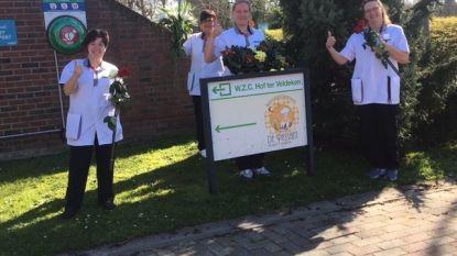 Bar Blomster zet bewoners en personeel rusthuis Hof ter Veldeken in de bloemetjes