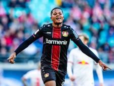 Leverkusen van Bosz houdt Leipzig in topper op gelijkspel