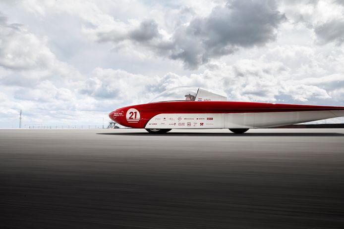 De nieuwe auto van Solar Team Twente