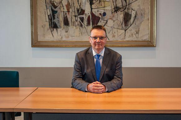 Burgemeester Luc Bouckaert (CD&V).