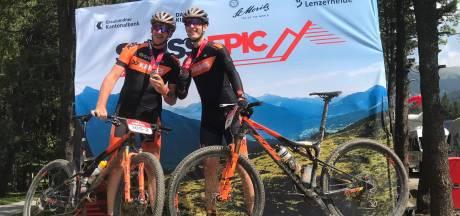 Sallandse mountainbikers zetten grote stap in verwezenlijken 'legende'-droom: Swiss Epic is overwonnen