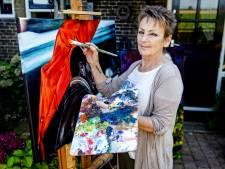 Met zo'n bekende opa had schilderes Marianne geen cursus of workshop nodig