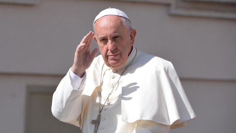Paus Franciscus. Beeld EPA