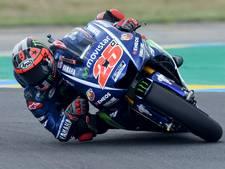 Viñales doet goede zaken na schuiver Rossi