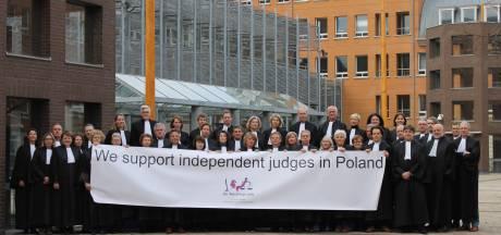 Opmerkelijk: Bossche rechters betuigen steun aan collega's in Polen
