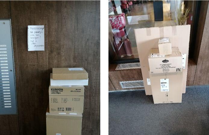 Postpakketten bij Sonnehove