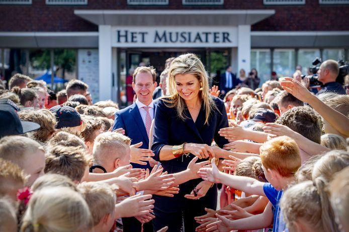 Koningin Maxima in 2018 te gast in Zevenaar. In het Musiater ondertekende zij een convenant voor beter muziekonderwijs op scholen in haar rol als erevoorzitter van Meer Muziek in de Klas.