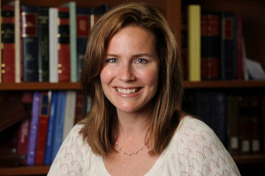Rechter Amy Coney Barrett.