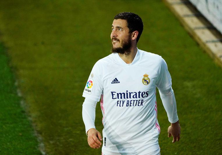 Een Hazard die wedstrijdfit naar het EK kan, lijkt almaar onwaarschijnlijker. Beeld REUTERS