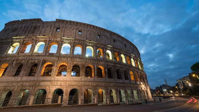 Le Colisée de Rome.