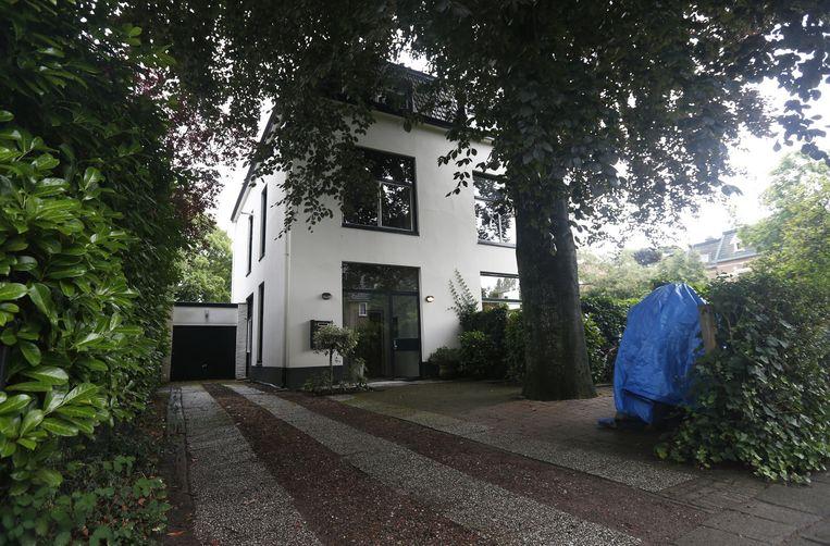 De voormalige villa van de vermoorde platenproducer Bart van de Laar. Beeld anp
