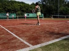 Nieuwe tennisbanen in Oisterwijk dankzij leden Teco