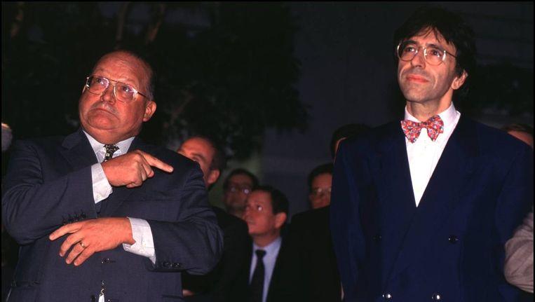 Premier Elio Di Rupo was namens de PS vicepremier in de regeringen Dehaene I en Dehaene II. Foto uit 1996.