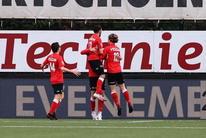 Helmond Sport stuntte dinsdag tegen Almere City: 2-1.