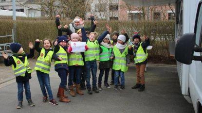 Leerlingen bezoeken Sociaal Huis