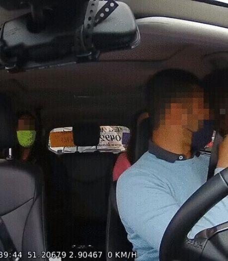 Un chauffeur de taxi agressé par un cycliste à Ostende