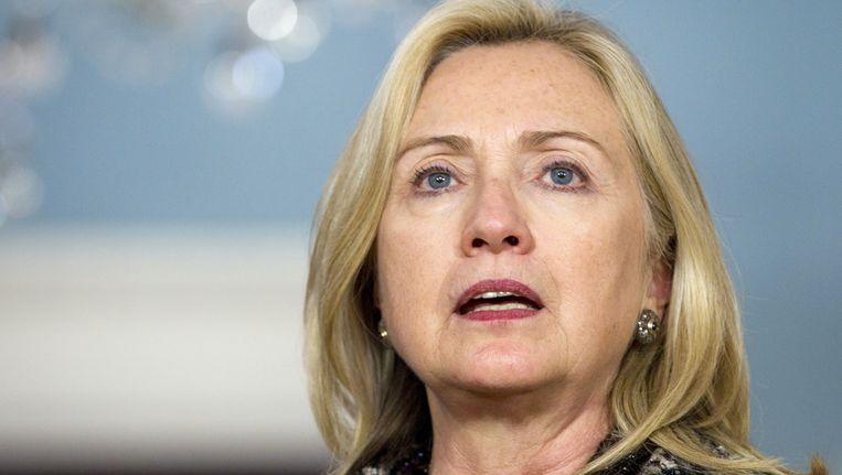 Hillary Clinton. Beeld AP