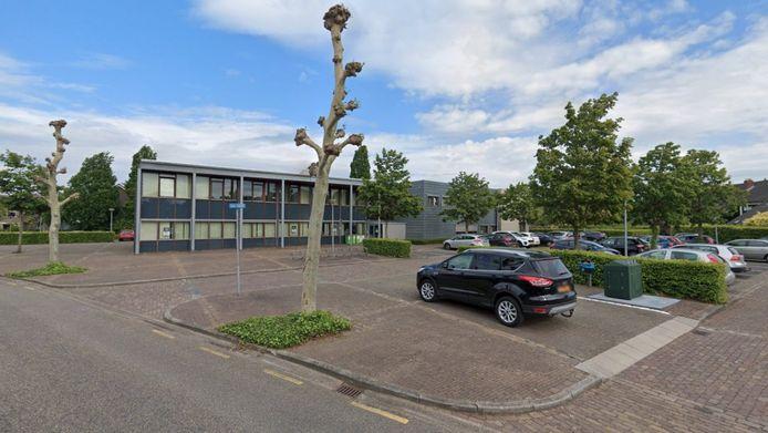 Het voormalige gemeentehuis in Muiden