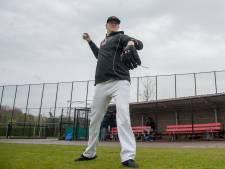 'Grote vriendelijke reus' uit Zweden gooit voor de honkballers van Quick