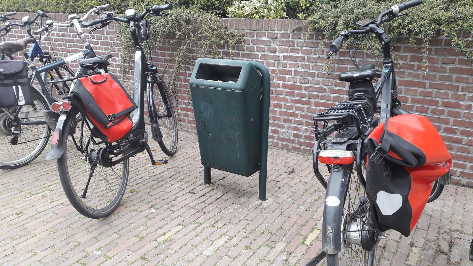 Woede over het verzetten van een fiets.
