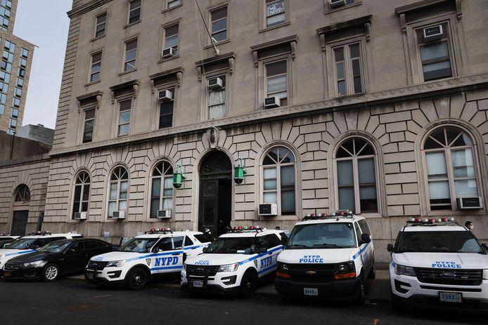 Politiewagens in New York.