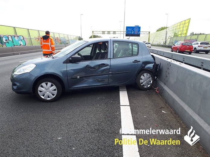 Ongeluk op A2 tussen Den Bosch en Kerkdriel
