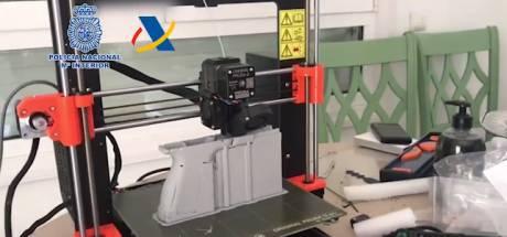 La police démantèle un atelier d'impression 3D d'armes à feu en Espagne