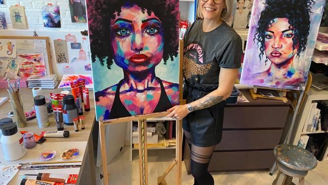 """Liesje Boeckx uit Aarschot exposeert op de kunstroute: """"Ik wil vrouwen zelfzekerder maken en terug in hun kracht zetten"""""""