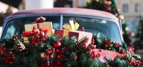 Kerstpakket oppikken in de X-Mas Drive Thru in Eindhoven
