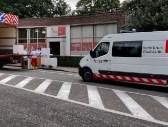 Rode Kruis-Gent bracht al twee konvooien met hulpgoederen naar overstromingsgebied