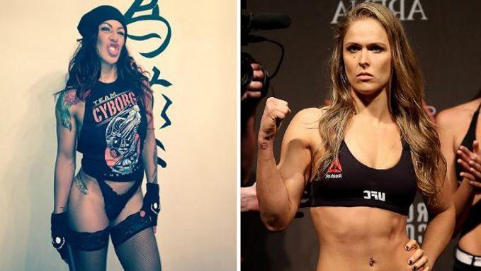 Wordt dit de nieuwe 'Money Fight' (v)? UFC-kampioene 'Cyborg' Justino wil worstelen met Ronda Rousey