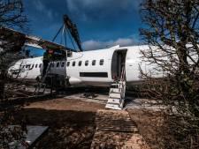 'Campingvlucht' in Braamt: in een vliegtuig naar dromenland