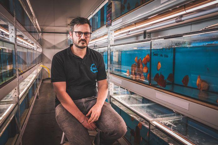 Bruno Collet van Aquarium Neon in Lochristi.