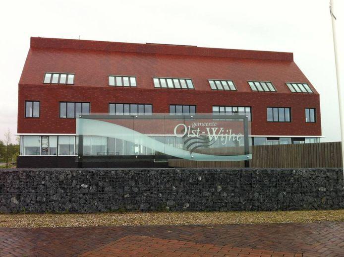 Het gemeentehuis in Wijhe.