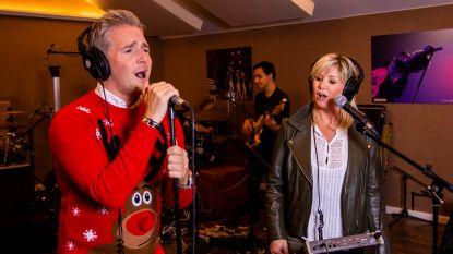 """VIDEO. Christoff en Lindsay touren langs de Vlaamse kerken: """"We voelen ons net de Kerstman"""""""