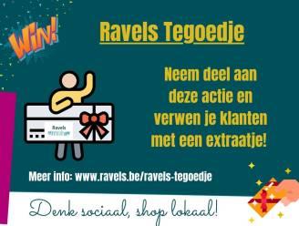 Ravels-tegoedje ondersteunt handelaars in moeilijke tijden