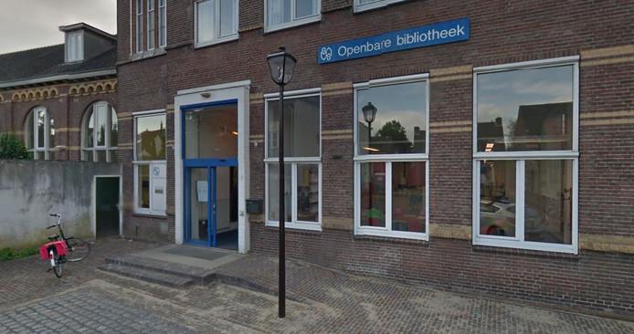 De gevel van de bibliotheek in Boxtel.
