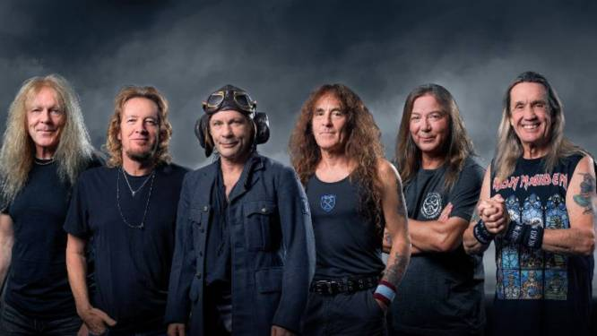 Iron Maiden headliner op Graspop Metal Meeting 2022