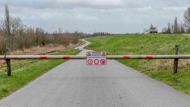 Tijdelijk toegangsverbod in Polders van Kruibeke door gevaarlijk stormtij, veerdienst wordt tijdelijk gestaakt