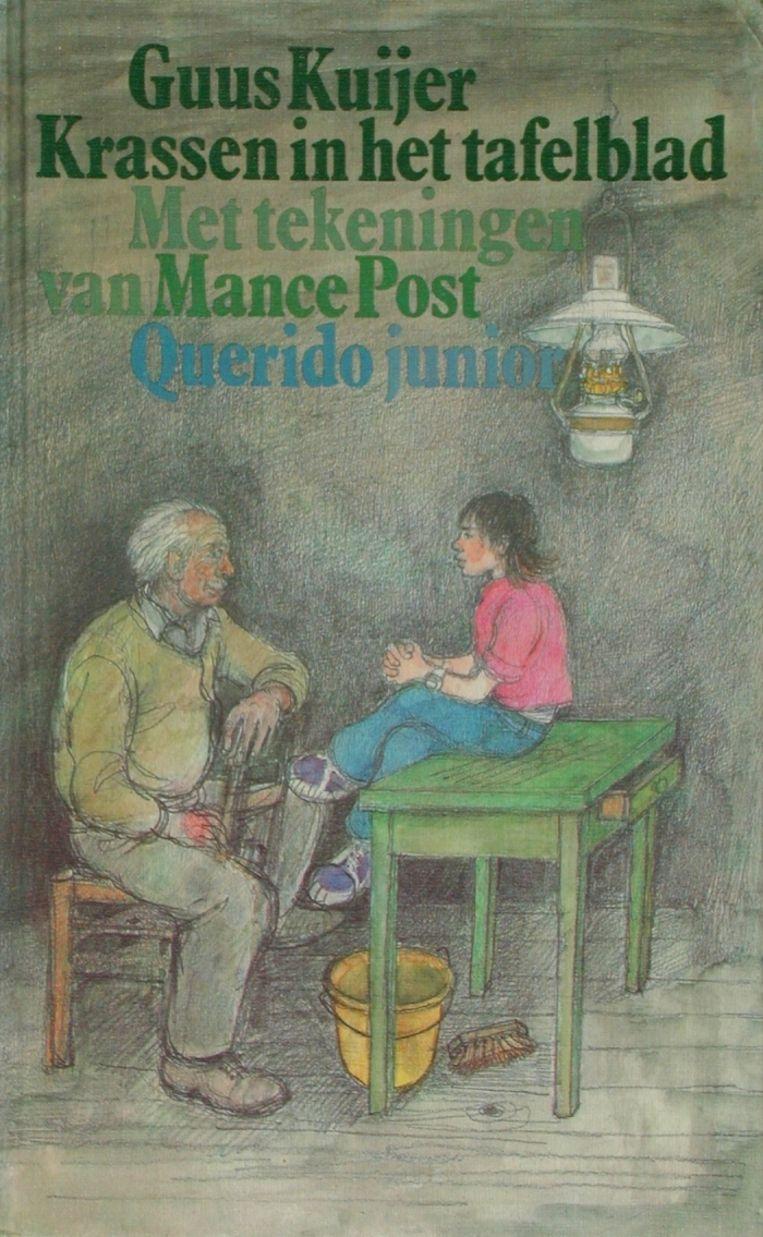 Cover van Krassen in het tafelblad Beeld -