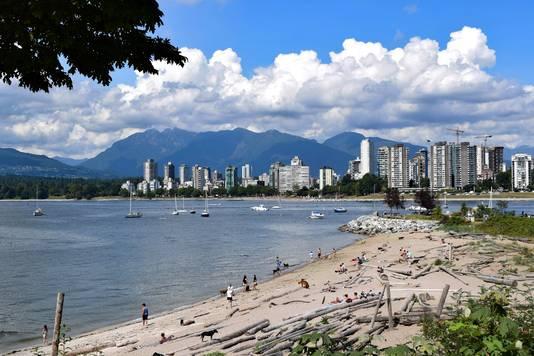 Vue sur Downtown Vancouver.