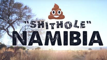 'Shithole country' Namibië pakt uit met sublieme promovideo