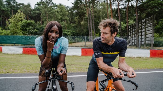 Elodie Ouédraogo en Otto-Jan Ham in Story