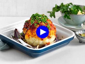 Gezond grillen: bloemkool uit de oven voor bij de BBQ
