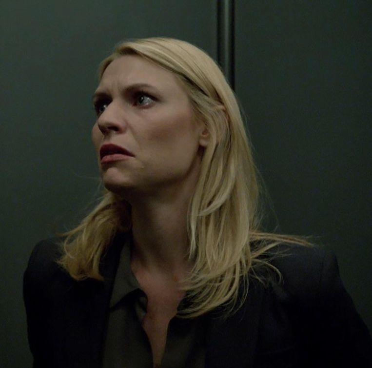 De tv-held is dood, leve de serieweirdo. Carrie, de CIA-agente uit Homeland, lijdt aan een bipolaire stoornis. Beeld © RV, BBC/ZDF/CAROLINA ROMARE, USA NETWORK