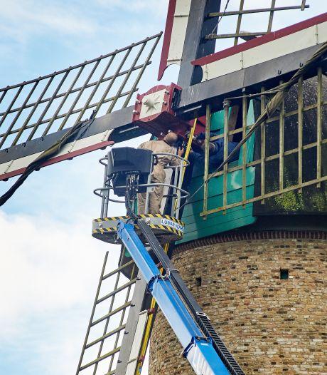Wieken van Kilsdonkse molen draaien weer soepeltjes