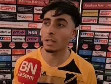 Azzagari (NAC) kan niet veel met complimenten: 'Moeten ook een keer punten gaan pakken als we goed spelen'