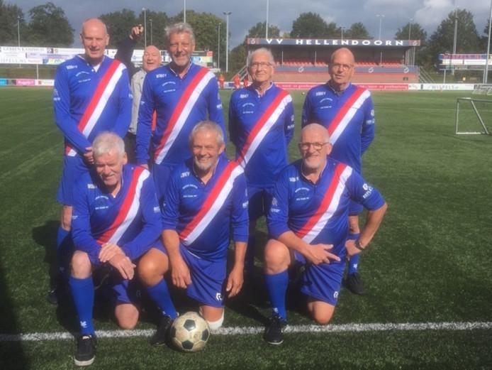 Het team van Regge United werd tweede.